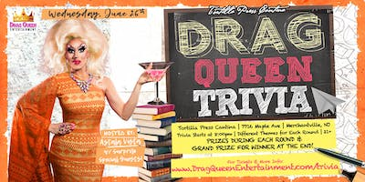 Tortilla Press Cantina Drag Queen Trivia - 6/26!