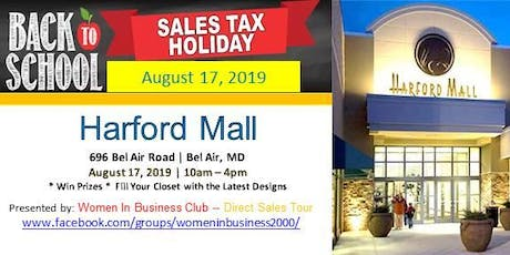 MD Vendors Needed for Back to School Tax Free Weekend Aug 17, 2019 tickets