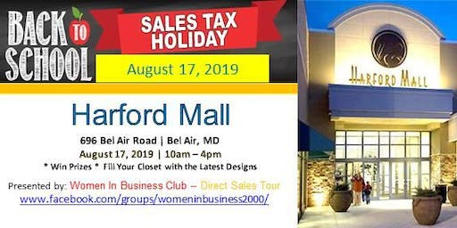 MD Vendors Needed for Back to School Tax Free Weekend Aug 17, 2019