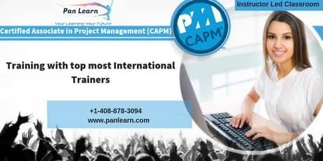 CAPM (Certified Associate In Project Management) Classroom Training In Winnipeg, MB tickets