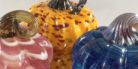 Artist-led Workshop: Glassblowing (Pumpkins/Gourds) with Lisa Pelo tickets