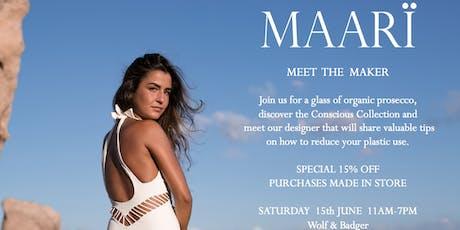 Meet The Maker: Maarï tickets