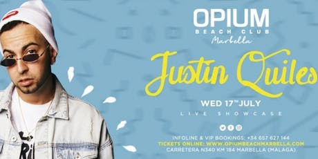 Justin Quiles entradas
