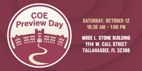 2019 COE Preview Day tickets