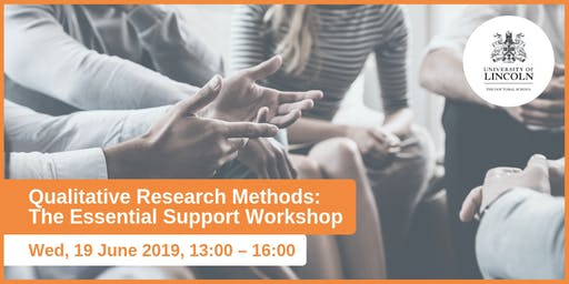 Qualitative Research Methods: The Essential Support Workshop