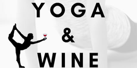 Yoga & Wine 8/25 tickets