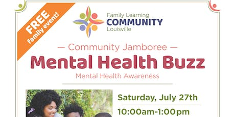 JCPS District 2 Community Jamboree - Mental Health Buzz tickets