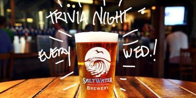Trivia Night at Saltwater Brewery Every Wednesday