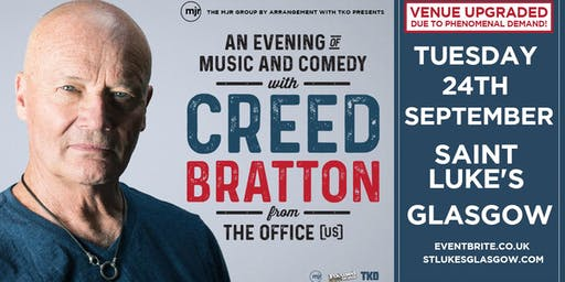 Creed Bratton From The Office (US Version) (Saint Luke's, Glasgow)