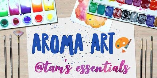 Tam's Aroma Art: Essential oils Paint Party!