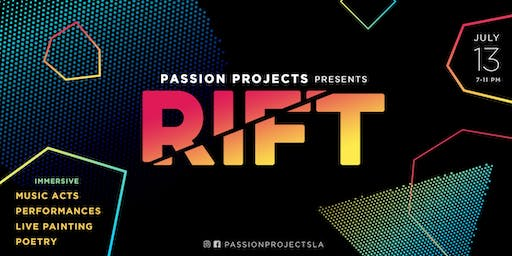 RIFT - An Immersive Collage of Music, Performance & Poetry
