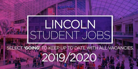 Lincoln Student Jobs Fair tickets