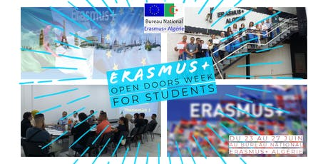 Erasmus+ Open Doors Week for Students tickets