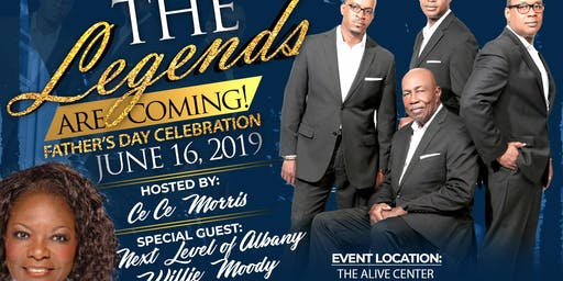 BTM Entertainment presents The Legends are Coming Father's Day Celebration