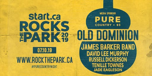 Old Dominion, James Barker Band, David Lee Murphy & More