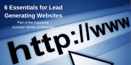6 Essentials for Lead Generating Websites tickets