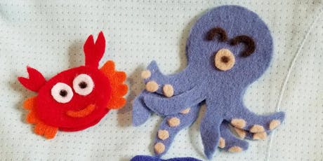 Parent-Child Finger Puppet Workshop  tickets