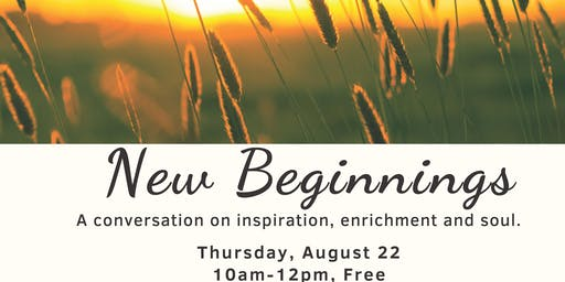 New Beginnings Workshop with Inely Cesna