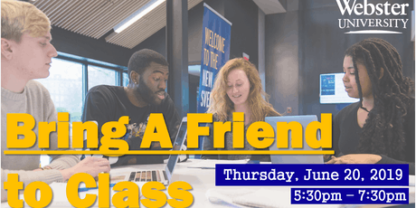 Bring A Friend to Class tickets