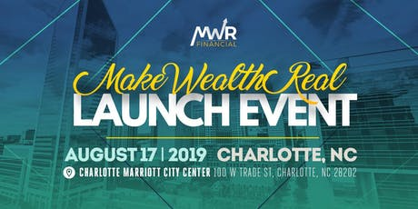 Make Wealth Real National Launch Convention tickets