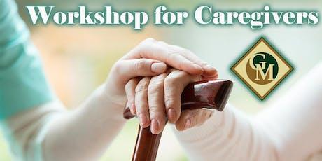 Workshop for Caregivers tickets