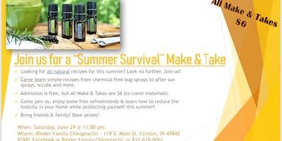 Summer Survival Make & Take