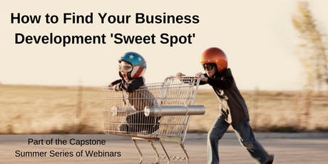 How to Find Your Business Development 'Sweet Spot' tickets
