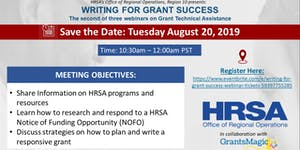 Writing for Grant Success Webinar
