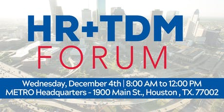 HR+TDM (Transportation Demand Management) Forum tickets