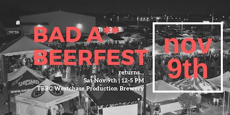 Bad A** Beerfest  tickets