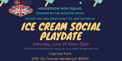 Ice Cream Social Playdate - Henderson Mom Squad