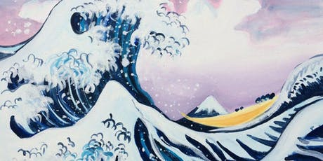 Paint The Great Wave! Manchester, Tuesday 6 August tickets