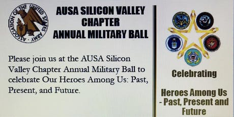 AUSA Silicon Valley Annual Military Ball tickets