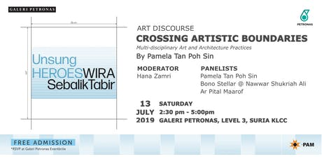 ART DISCOURSE: CROSSING ARTISTIC BOUNDARIES  tickets
