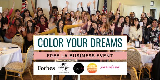Color Your Dreams - Free Women in Business Event in LA with Elaine