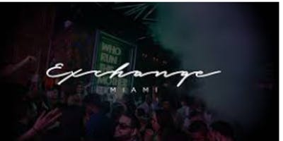 ALL INCLUSIVE VIP SUNDAYS @ EXCHANGE MIAMI