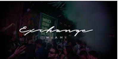 ALL INCLUSIVE VIP SUNDAYS @ EXCHANGE MIAMI