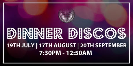 Reigate Manor Dinner Discos tickets