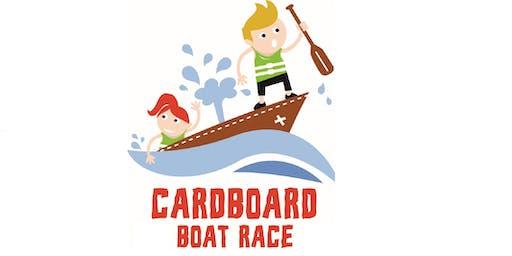 Cardboard Boat Race 2019