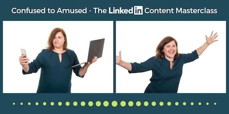 LinkedIn Content Masterclass tickets