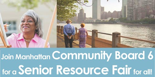 CB6 Senior Resource Fair