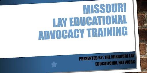 Missouri Lay Educational Advocacy Training-St. Charles, MO