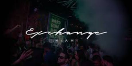 ALL INCLUSIVE VIP SUNDAYS @ EXCHANGE MIAMI  tickets