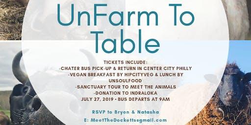 UnFarm To Table