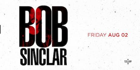 Bob Sinclar tickets