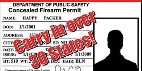 Utah Concealed Carry Weapons Class tickets