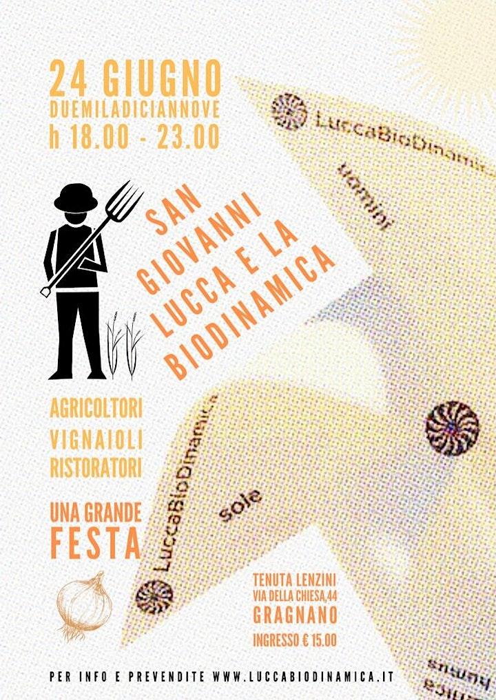 Immagine La festa di LuccaBioDinamica