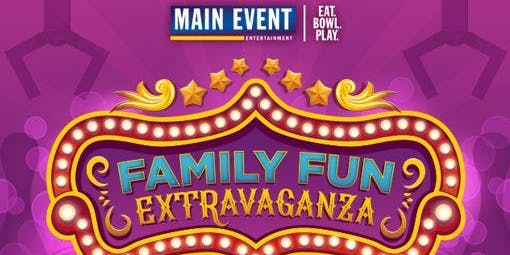 Family FUN Extravaganza -  Games, Vendors,  and Activities