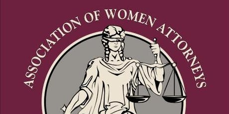 Association of Woman Attorneys of Lake County, 2019-2020 membership dues tickets