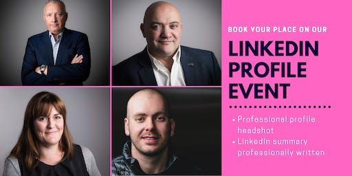 LinkedIn Headshot and Profile Summary